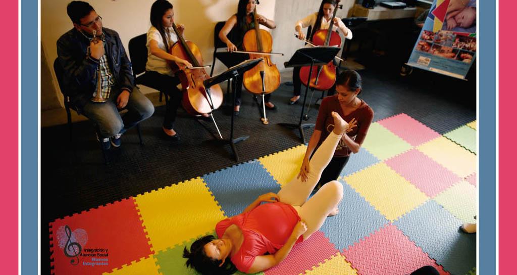 Fátima Fernández dictará taller de Gimnasia Musical para Madres Embarazadas