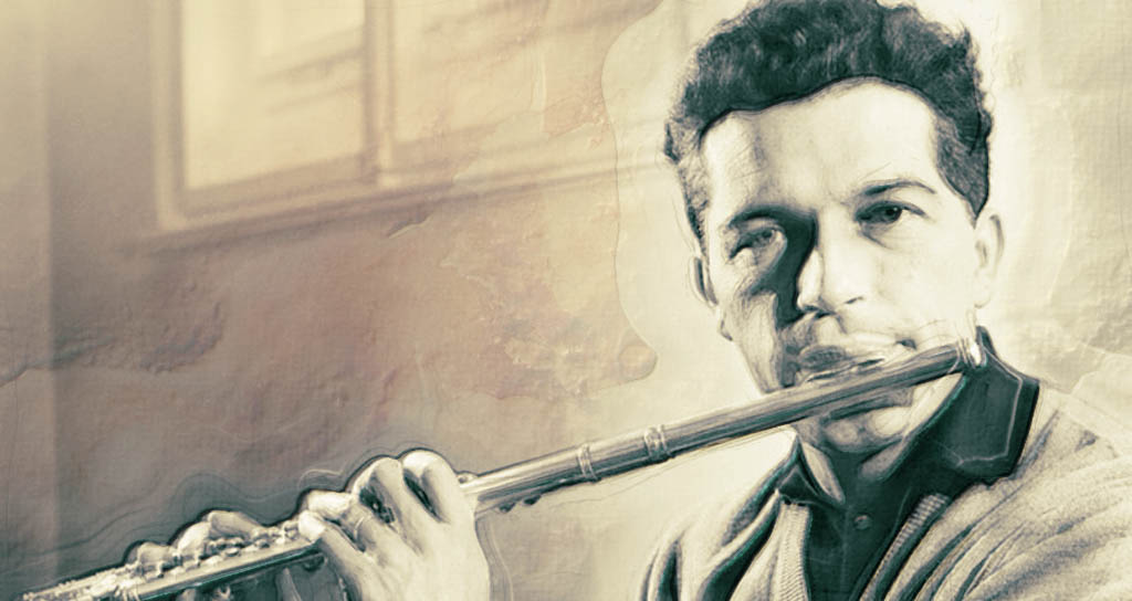 Muere Aurele Nicolet, el titán de la flauta que discutió con Herbert Von Karajan