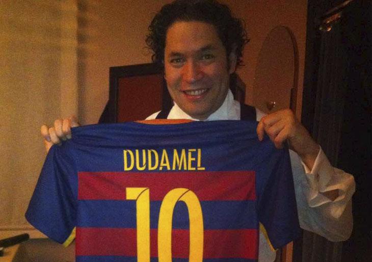 """Dudamel """"fichado"""" por el Barça"""