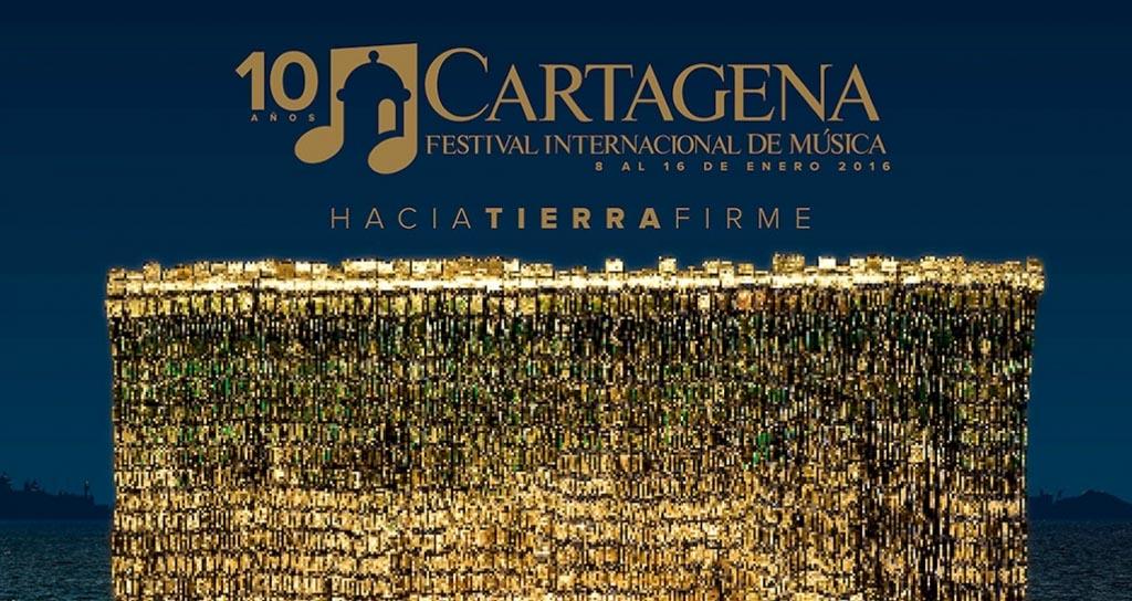 """""""Hacia tierra firme"""" el Festival Internacional de Música de Cartagena"""