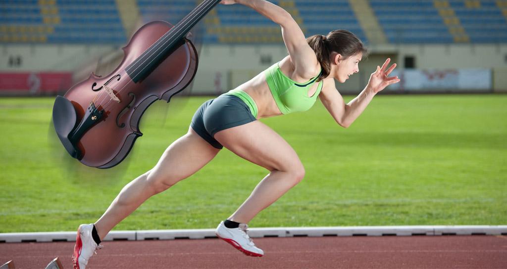 Ser músico, un deporte de élite