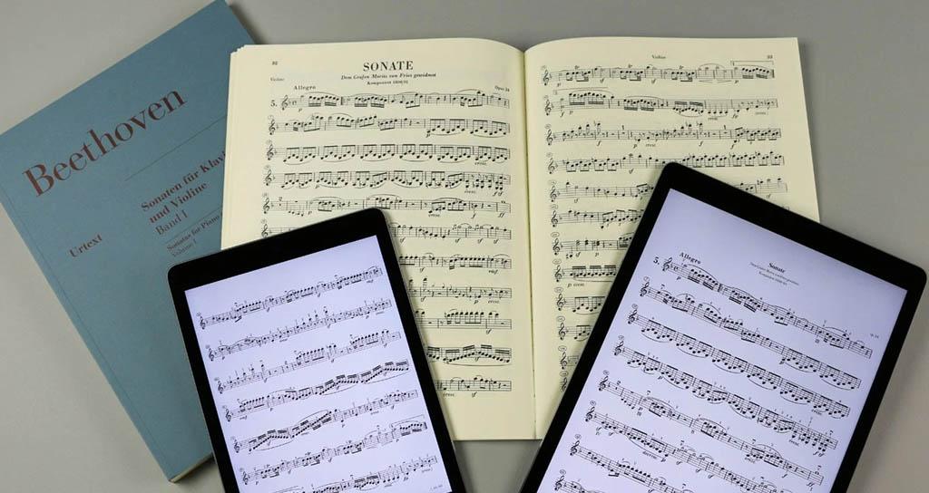 Henle Verlag lanza su app para partituras en Apple y Android