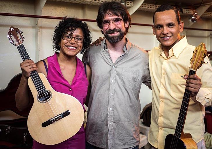 Mathias Caron – Luthier francés de cuatro venezolano