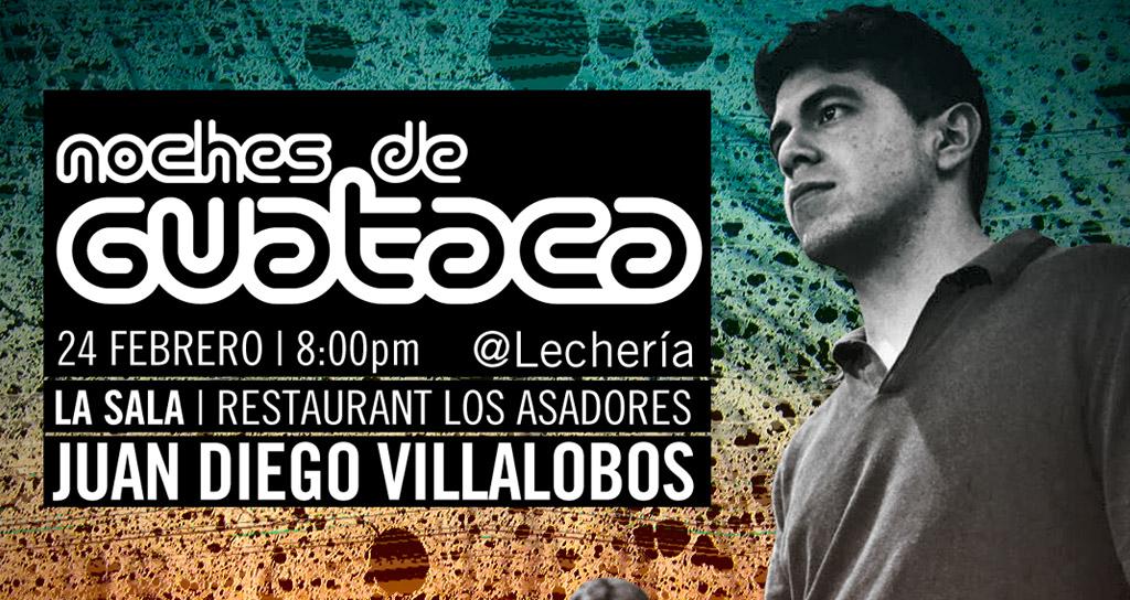 El Quinteto de Juan Diego Villalobos presente en Noches de Guataca