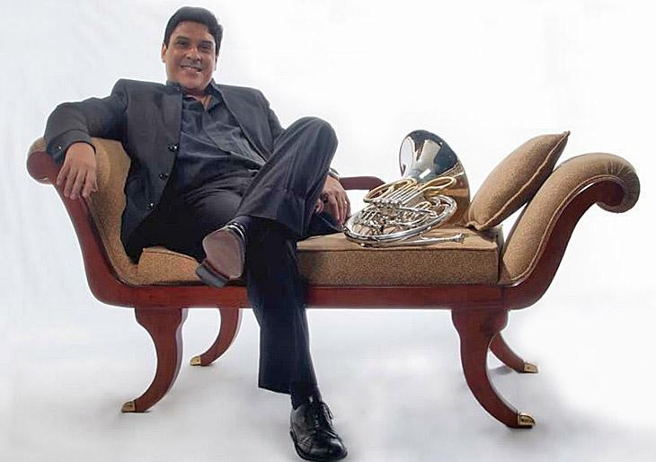 Joel Arias funda la Cátedra de Corno en la Universidad de Panamá