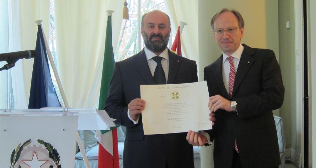 Italia premia al intendente de Les Arts por su visión innovadora de la ópera