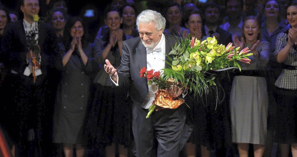 Plácido Domingo será honrado en el Lincoln Center
