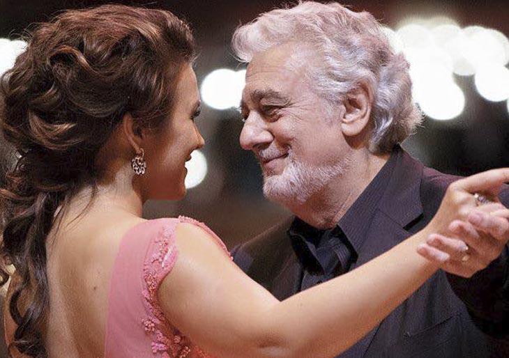 Plácido Domingo inauguró el tradicional Baile de la Ópera de Viena