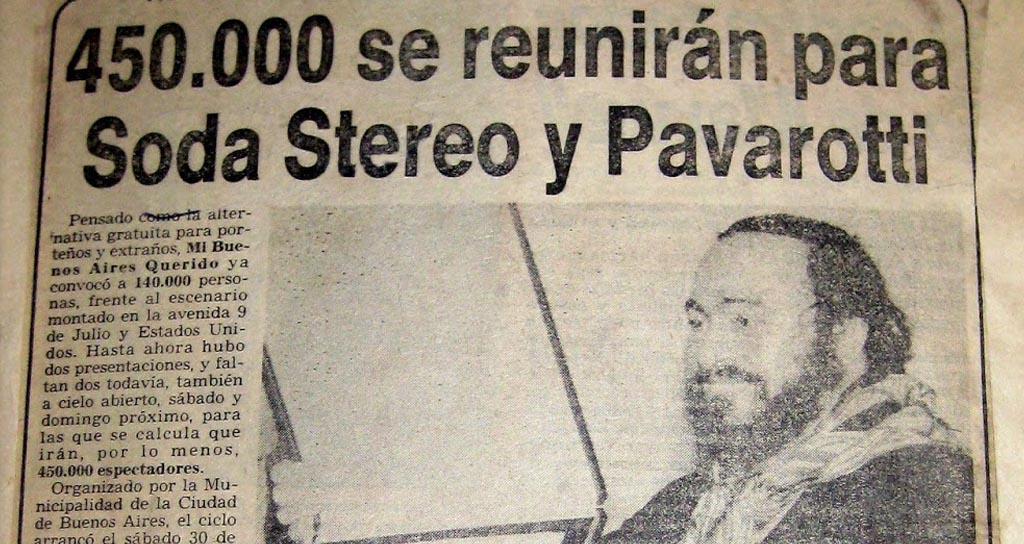 El día que Cerati le ganó a Pavarotti
