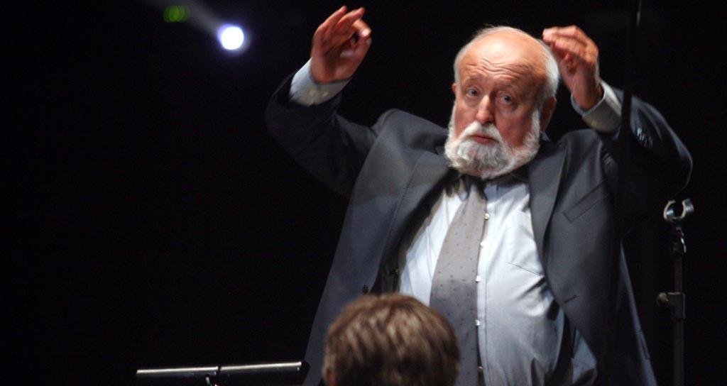 """Penderecki: """"Lo que hizo el maestro Abreu es absolutamente excepcional"""""""