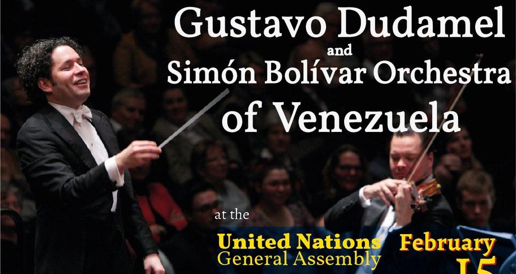 Dudamel dirigirá concierto por la paz en la ONU