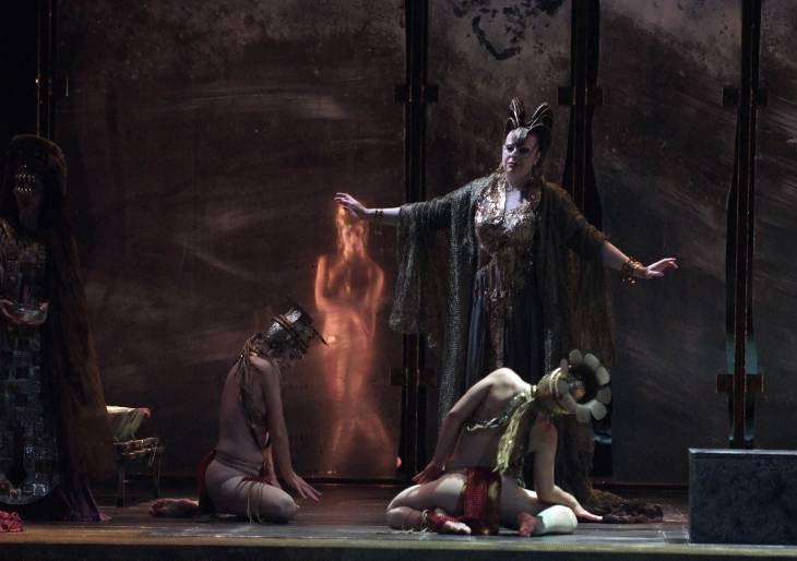 Les Arts paga un extra al Ballet de la Generalitat por sus desnudos en 'Aída'