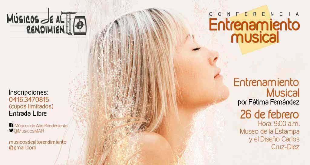 """Confererencia """"Entrenamiento Musical"""""""