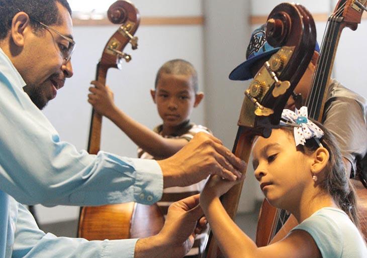 El Núcleo La Rinconada recibió la sabiduría de los músicos de La Bolívar