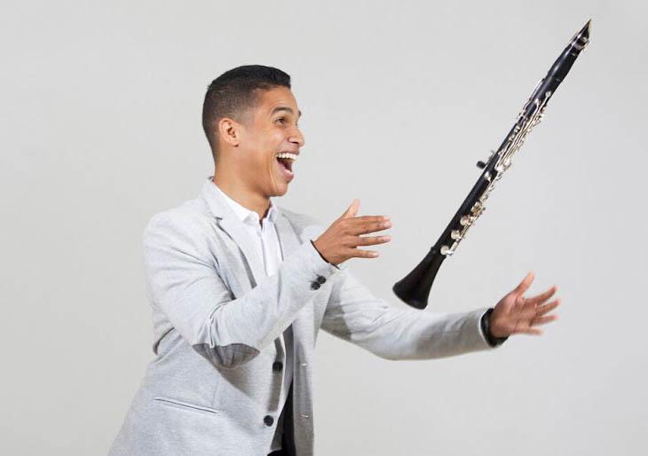 El clarinete de Carlos Escalona sonará a Mozart