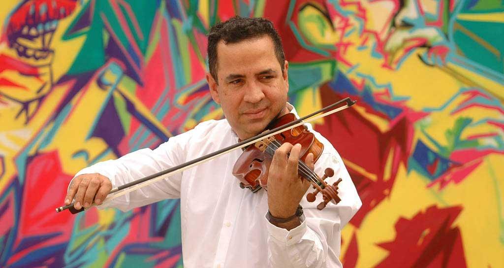 ¡Viva Aldemaro! La onda nueva en el violín de Eddy Marcano