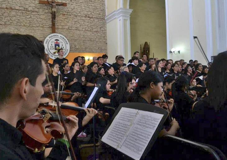 Coral Falcón y Orquesta Sinfónica de Falcón realizan Ciclo de Conciertos Religiosos