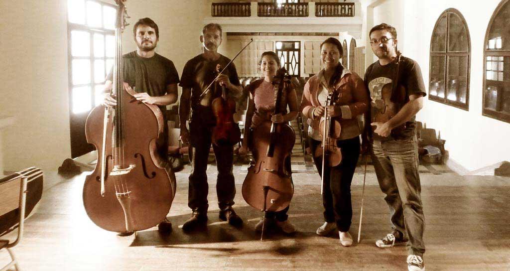 """El Quinteto de cuerdas """"Bucare"""" debuta en el Táchira"""