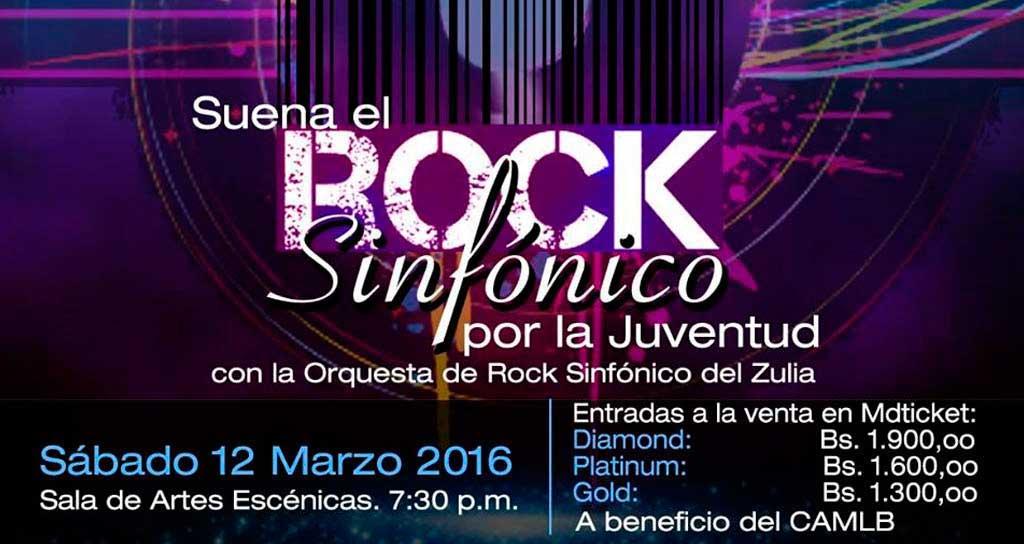 La primera Orquesta de Rock Sinfónico del Zulia sonará a beneficio del «Lía»