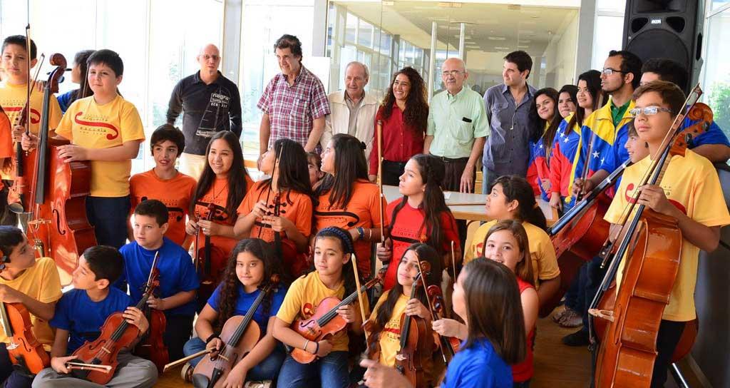 Venezuela se suma a la Orquesta Escuela y Camerata San Juan
