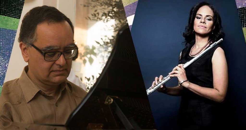 El Pianista Juan Francisco Sans y la Flautista María Alejandra Jiménez se unen en Viernes Musicales de la UCV