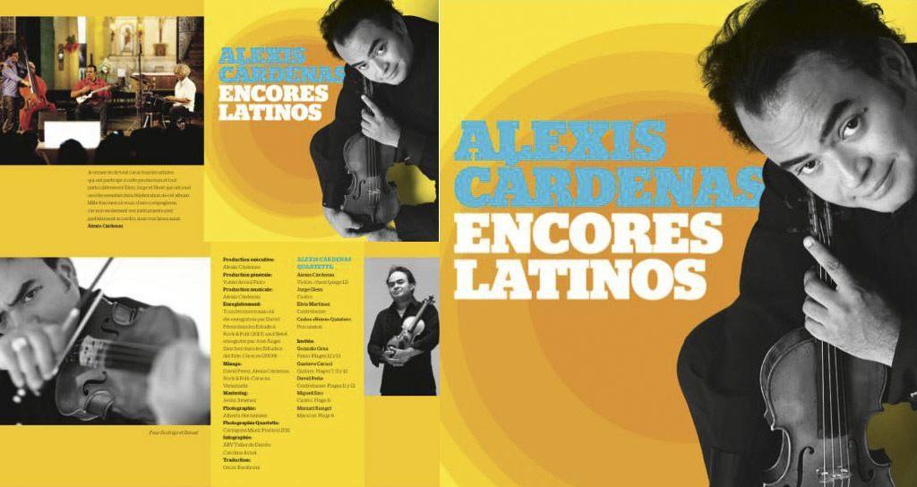 Nuevo disco de Alexis Cárdenas salió ya en Colombia