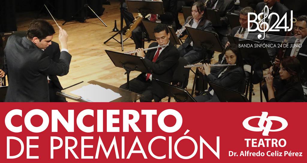 Primer Concurso Nacional de Composición Banda Sinfónica 24 de Junio