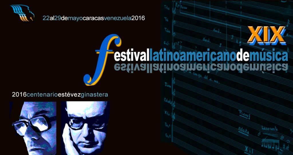 Bienvenidos al sitio web del XIX Festival Latinoamericano de Música