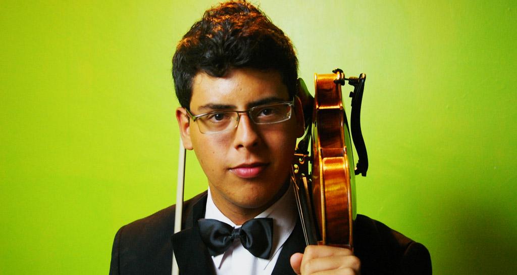 Alejandro Machado y Daniel López en concierto con la Orquesta Juvenil Regional de Falcón