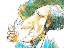 Wagner Ilustración de Ricardo Heredia
