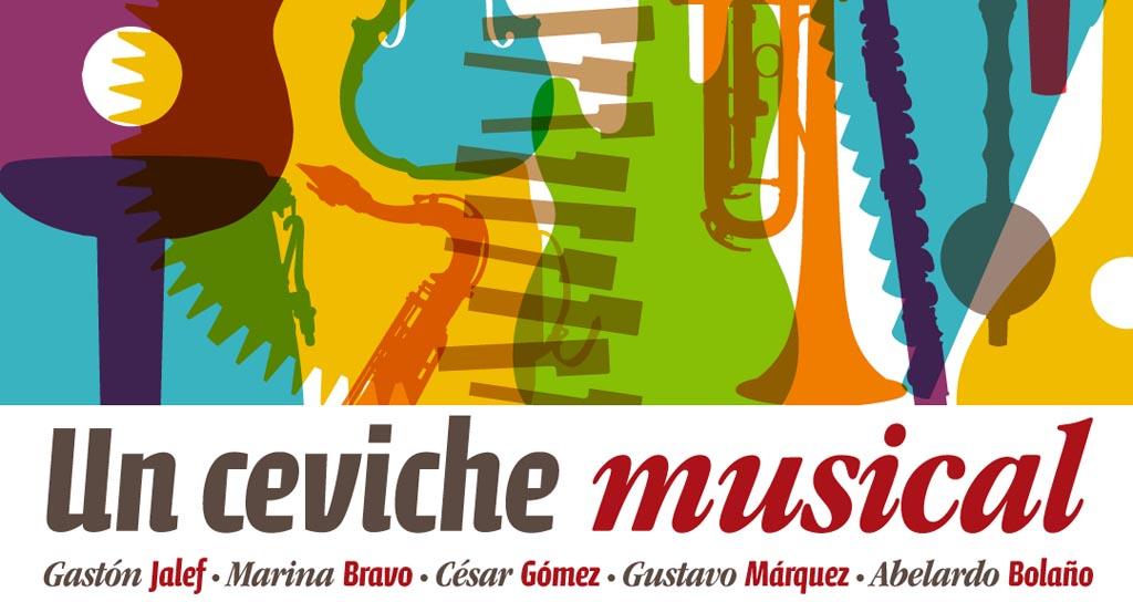 """Aquiles Báez nos invita a saborear un """"Ceviche musical peruano"""""""
