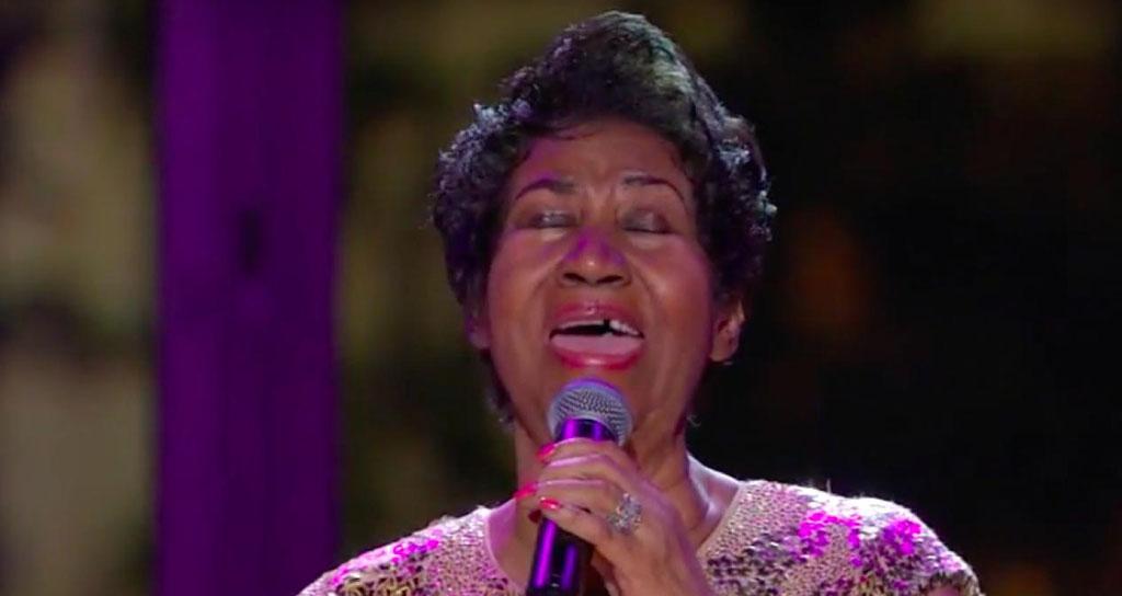 Aretha Franklin homenajea a Prince en la Casa Blanca