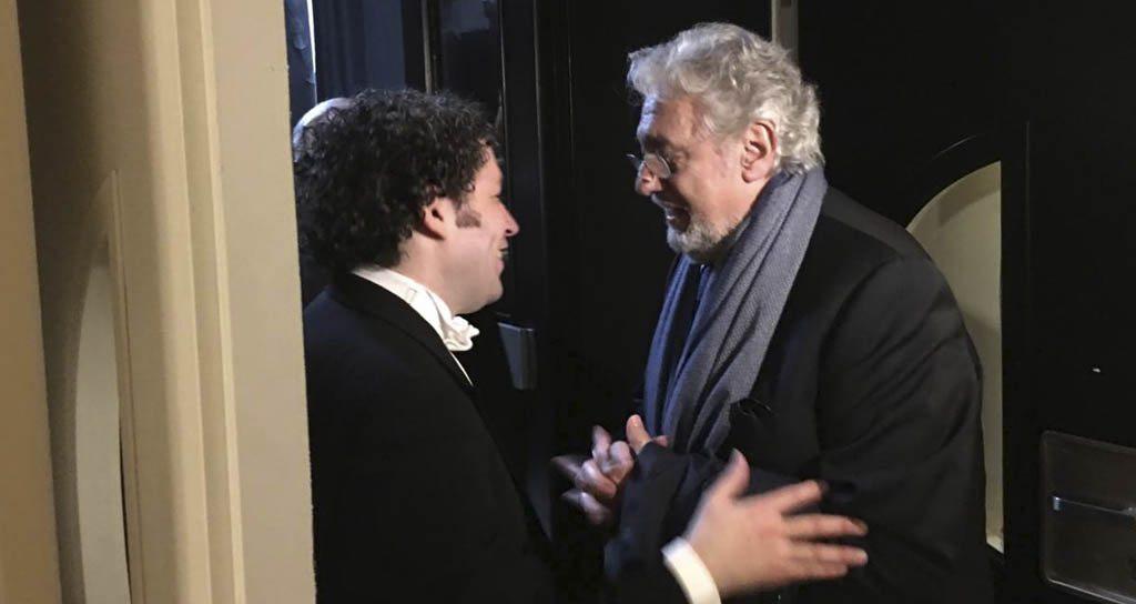 Gustavo Dudamel dirigirá ópera organizada por Plácido Domingo