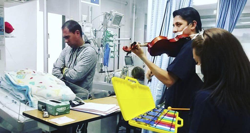 """Marlon Franco Ortega: """"Cuando uno llega a estos hospitales encuentra niños con grandes talentos"""""""