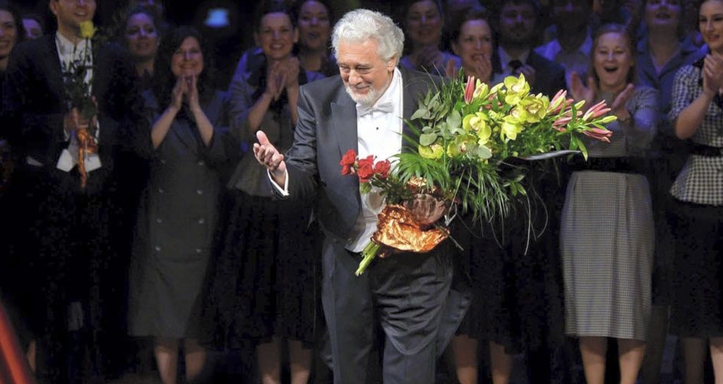Plácido Domingo es Nabucco en la Royal Opera House