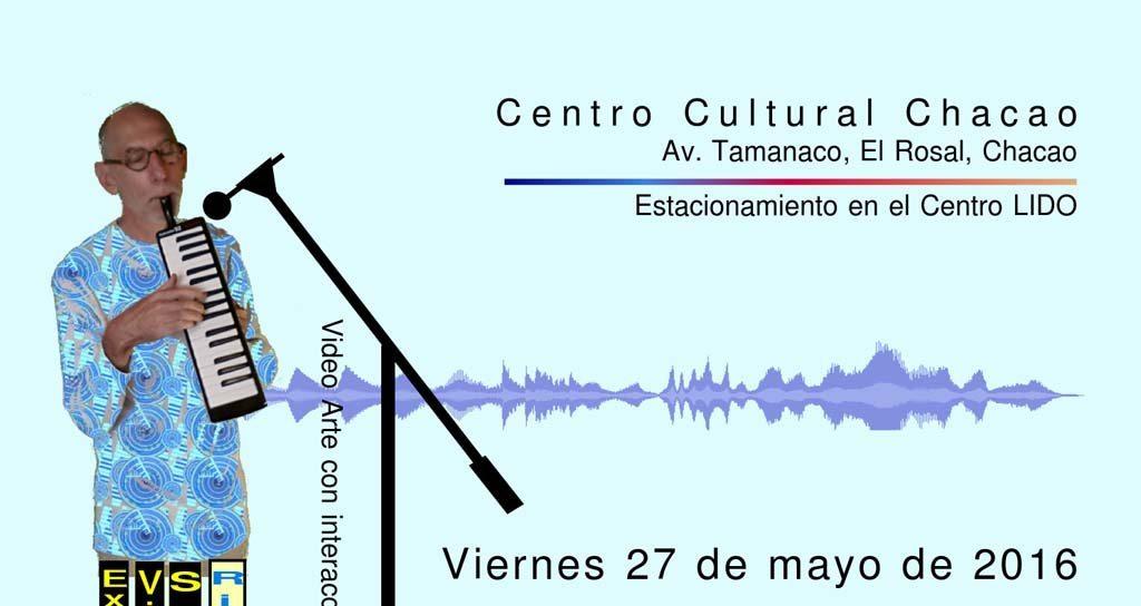 Ricardo Teruel en el Centro Cultural Chacao