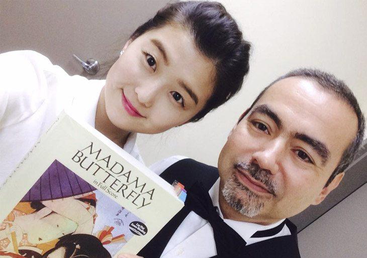 César Iván Lara brilló en Corea del Sur dirigiendo la Ópera Madame Butterfly