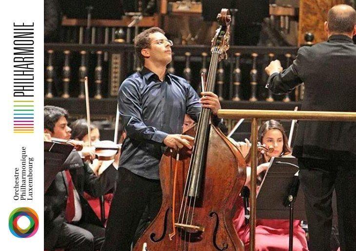 Edicson Ruiz debuta como solista con la Orchestre Philharmonique de Luxembourg