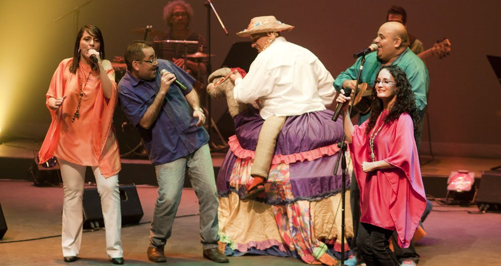 """""""Ponteporonte: un concierto pelempempudo"""" invita a jugar al ritmo de la tradición"""