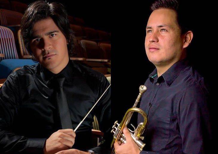 Anthony Pérez dirige a la Banda Sinfónica Juvenil Simón Bolívar en un concierto lleno de historia y amistad