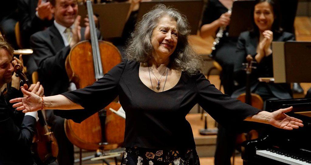 Martha Argerich: jóvenes 75