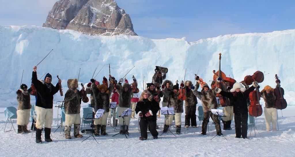Niños de El Sistema Groenlandia participan en el Side by Side en Suecia