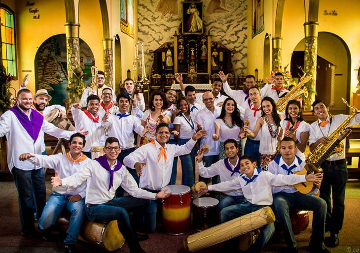 A bailar, cantar y parrandear con la Orquesta Afrovenezolana Simón Bolívar