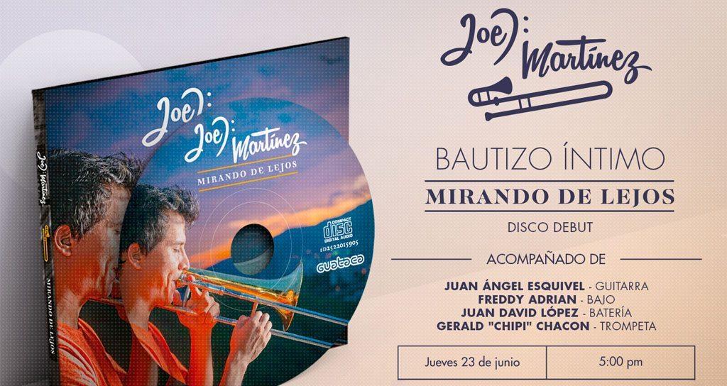 """¡Joel Martinez nos invita al bautizo íntimo de su álbum debut """"Mirando de lejos""""!"""