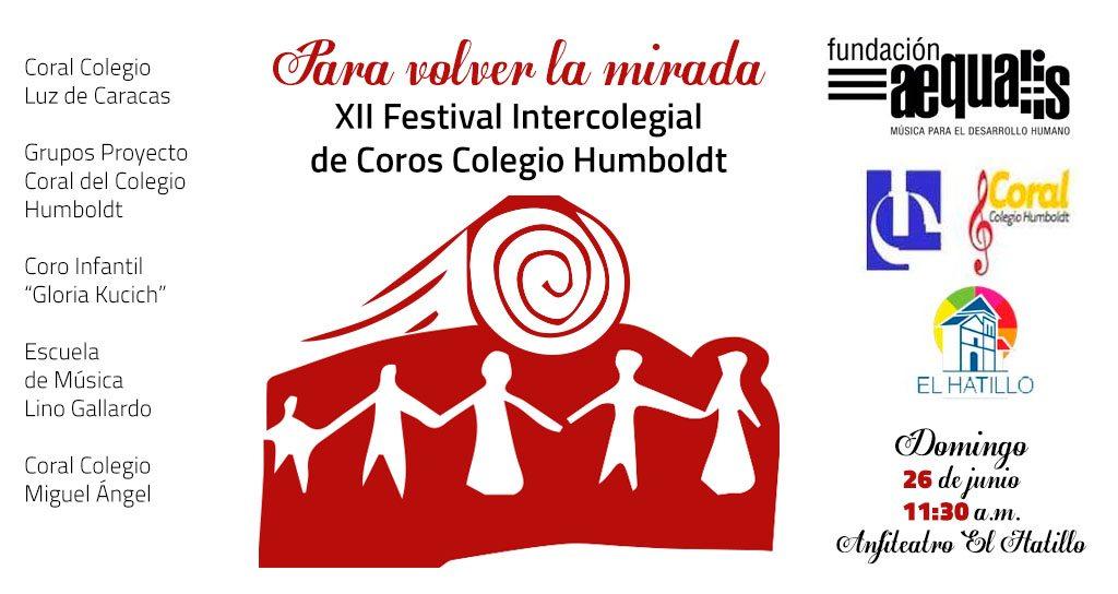 XII Festival Intercolegial de Coros Colegio Humboldt