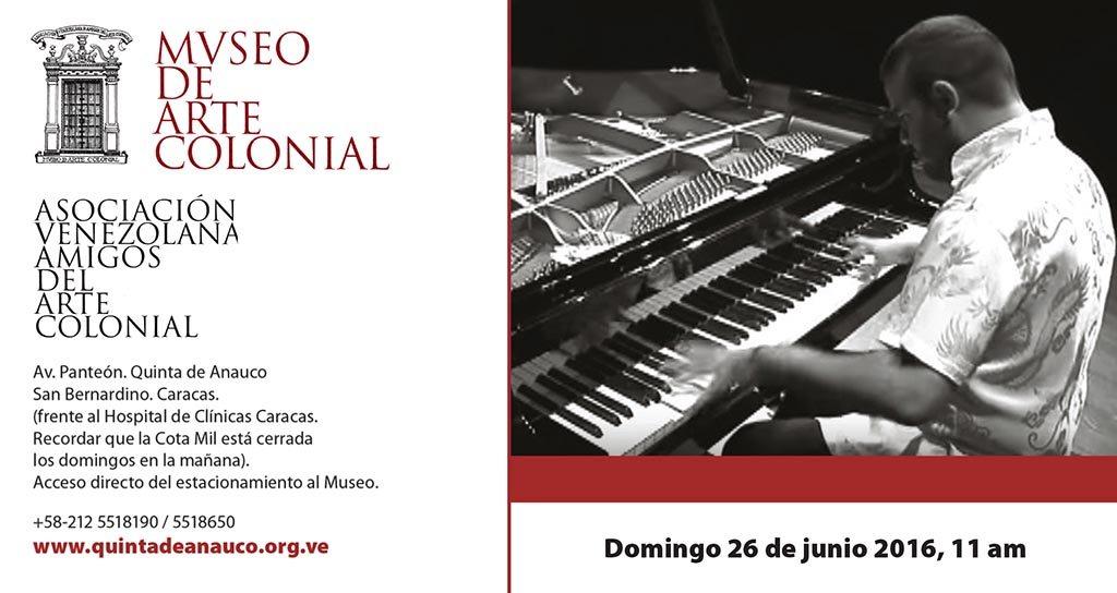 Carlos Gutiérrez toca obras de Scarlatti, Granados y Schubert