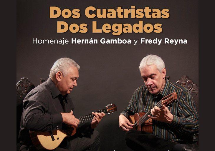 Cheo Hurtado y Ángel Martínez llevan el arte del cuatro al Teatro de Chacao