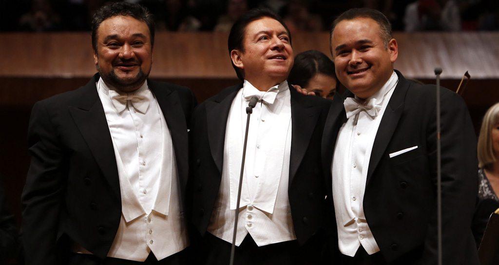 Los tres grandes tenores mexicanos conquistan en una velada histórica