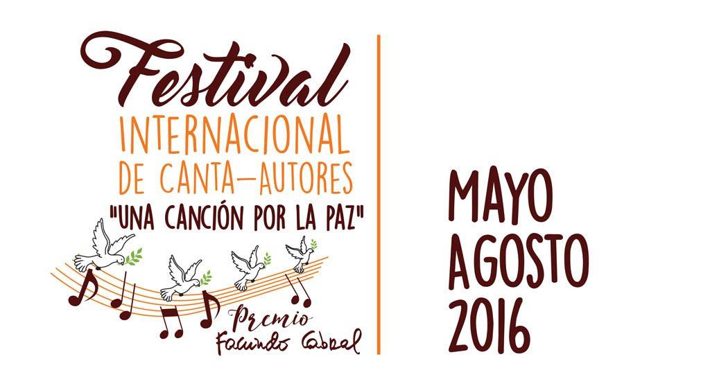"""Abiertas inscripciones para el primer Festival de Cantautores """"Una canción por la paz"""""""