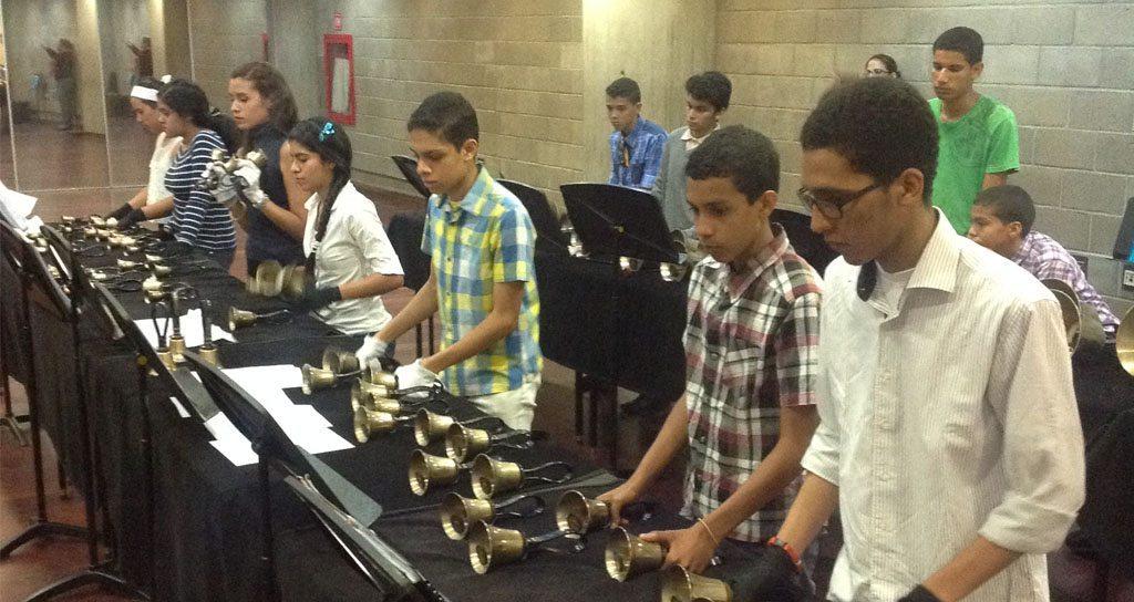Con un concierto culmina el ciclo de capacitación de la Orquesta de Campanas